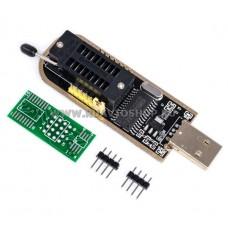 Программатор CH341A 24 25 FLASH 24 EEPROM / USB