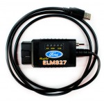 Адаптер ELM327 USB / FTDI с переключателем HS+MS CAN Pro