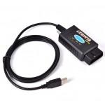Адаптер ELM327 USB FTDI с переключателем HS+MS CAN Pro