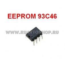 93C46 EEPROM DIP-8 Memory / Последовательная энергонезависимая память 93 серии
