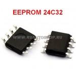 24C32 EEPROM SOP8 SOIC-8 Memory / Последовательная энергонезависимая память 24 серии