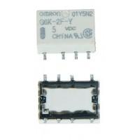 G6K-2PY5DC, Реле 5VDC 1A (10x6.5x5) mm(SMD-O)