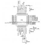 JV700 QFN Микросхема мультиплексор (оригинал)