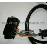 """Диагностический разъем вилка  OBD2 16-pin Расшитый (""""Папа"""")"""
