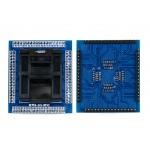 QFP64 TQFP64 LQFP64 0.5 мм Pin to Pin Rev 2 переходник панелька