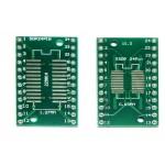 Адаптер SOP24/SSOP24/TSSOP24 на 0.65 и 1.27 мм