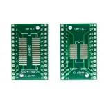 Адаптер SOP28/SSOP28/TSSOP28 на 0.65 и 1.27 мм