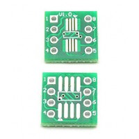 Адаптер SOP8/SSOP8/TSSOP8 на 0.65 и 1.27 мм