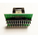 TSSOP28 / SSOP28 - DIP28 панелька адаптер 173 mil / 0.65 мм