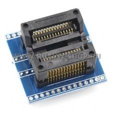 SOIC18 / SOIC20 / SOIC24 / SOIC28на DIP28 панелька адаптер 300 mil