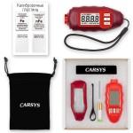 Толщиномер покрытия CARSYS DPM-816 Pro Красный полный комплект (цветной+черный металл)