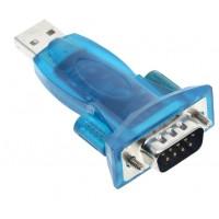 Конвертер USB-COM переходник преобразователь RS232 USB-COM DB9