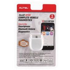 Autel MaxiAP AP200 - универсальный (мультимарочный) автосканер