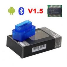 ELM327 Bluetooth mini RUS/ENG 1.5 Адаптер