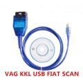 VAG 409.1 KKL + FIAT ECU SCAN  (чип FTDI) Адаптер RUS/ENG (с переключателем шин)