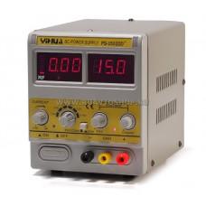 Блок питания постоянного тока YIHUA 1502DD+ / выход 15В/2А