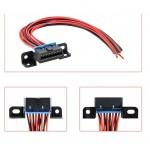 """Диагностический разъем Розетка OBD2 16-pin (""""Мама"""") с Проводами / Ремонтный набор"""