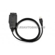 VAG 409.1 KKL (чип FTDI) Адаптер RUS/ENG