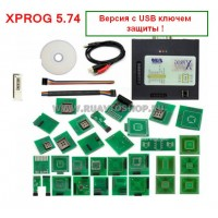 XProg M 5.74 Dongle (полный комплект) - Программатор